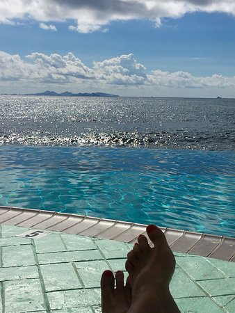 Oyster Bay Beach Resort: at the pool