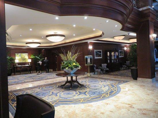 Foyer Reception Area : Foyer and reception area picture of omni san francisco