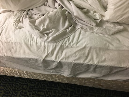 Sleep Inn: mattress pad needed to be adjusted, and fitted sheet was too loose