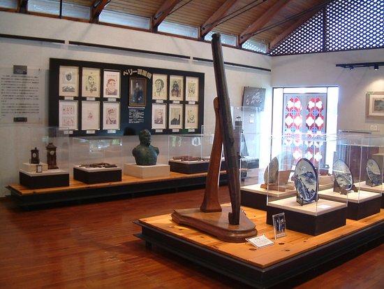 Kashiwazaki, Jepang: 黒船館 館内展示