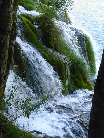 Jezioro Bohinjsko, Słowenia: Waterfall in the lakes