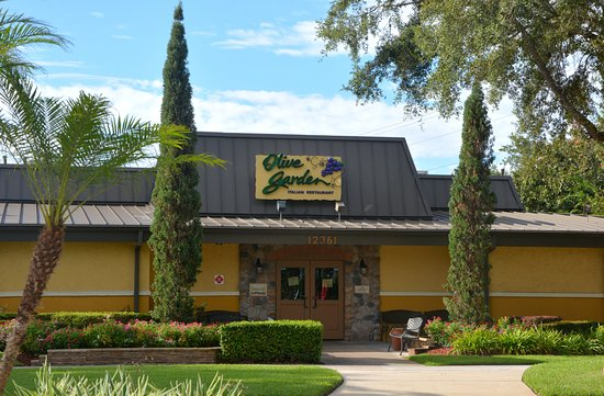 Entrada Do Restaurante Picture Of Olive Garden Orlando Tripadvisor