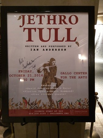 Modesto, CA: Gallo Center for the Arts