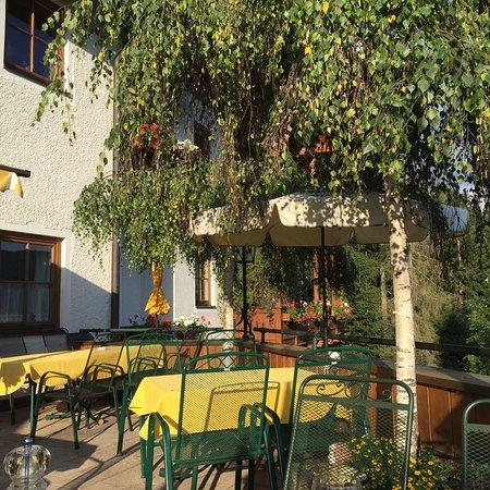 Mariapfarr, Austria: Terrasse