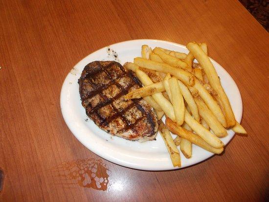 Orange, VA: Ham ribeyye steak