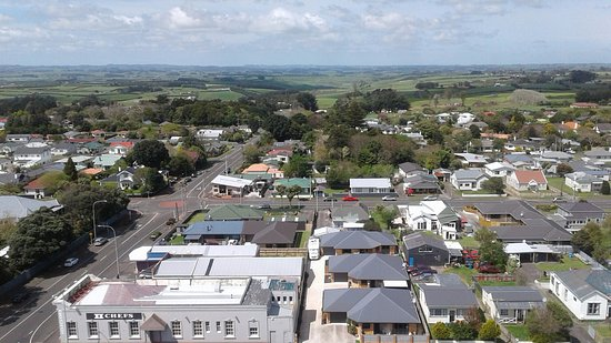 Hawera, นิวซีแลนด์: A view from the top!