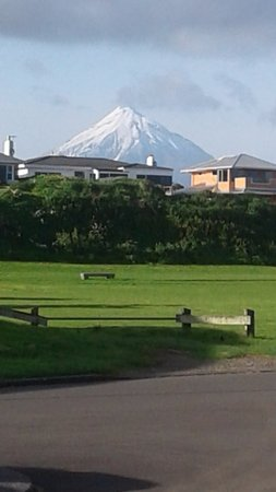 Coastal Walkway: Mount Taranaki from the walkway