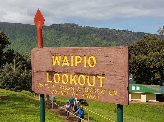 Honokaa, Hawái: Waipio Valley Lookout