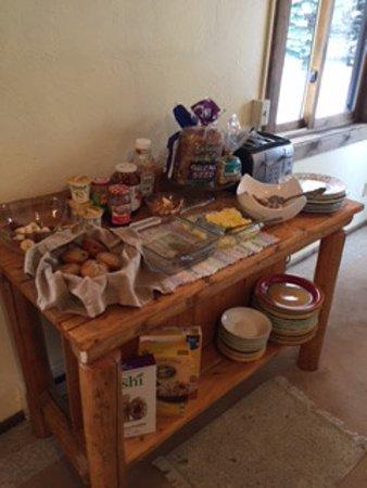 Wilson, WY: Breakfast serving area