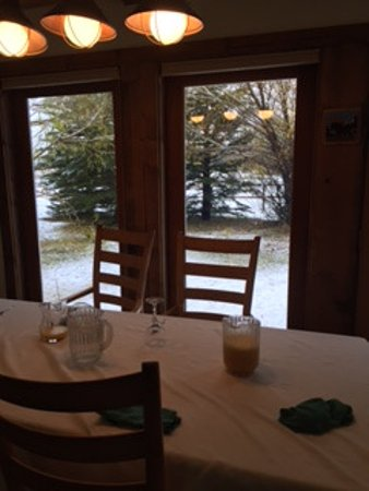 Wilson, WY: Breakfast area