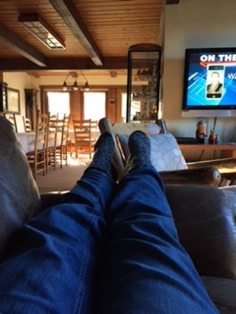Wilson, WY: So relaxing, in the living room area.