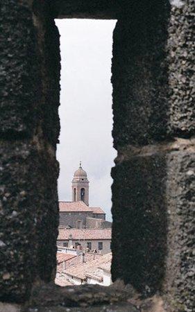Montalcino, إيطاليا: Defensive position