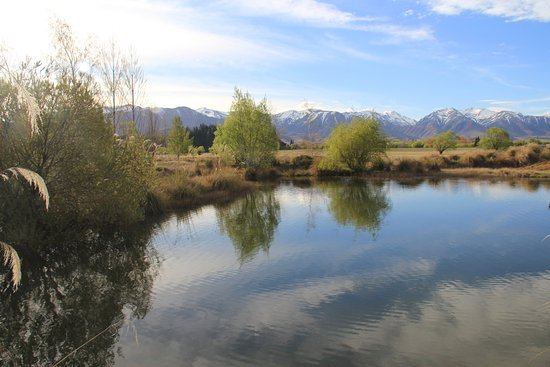 Twizel, New Zealand: View from the deck