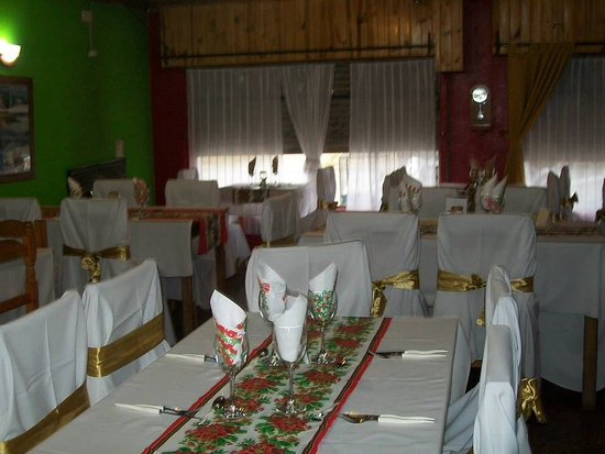 Puerto San Julian, Argentina: Salón preparado para celebrar navidad o Año Nuevo !! Reserva tu lugar