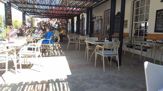 Prince Albert, South Africa: Dining on Verandah