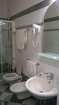 clean and spacious bathroom - Picture of Hotel Soggiorno Athena ...