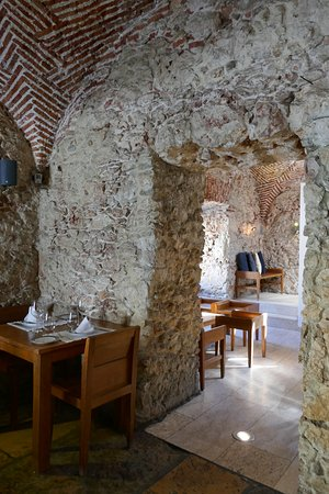 Paco de Arcos, Πορτογαλία: Des tables dans un superbe décor pour les salles