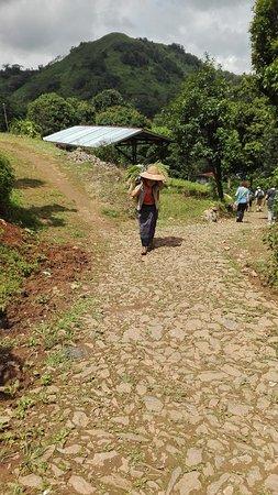 Pindaya, Birmania: While trekking in September,2016