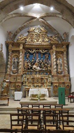 Chapelle Sainte Roseline: Le retable central.