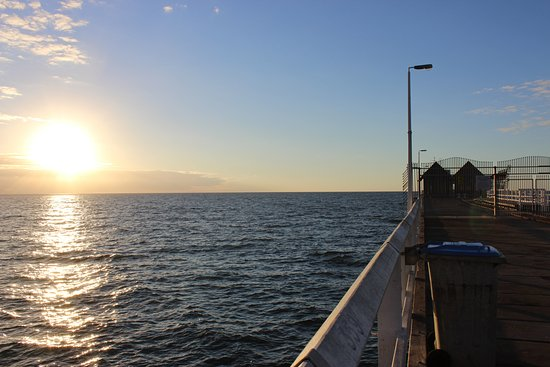 Busselton, Australia: the start of the jetty