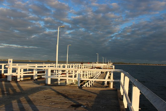 Busselton, Australia: the middle of the jetty