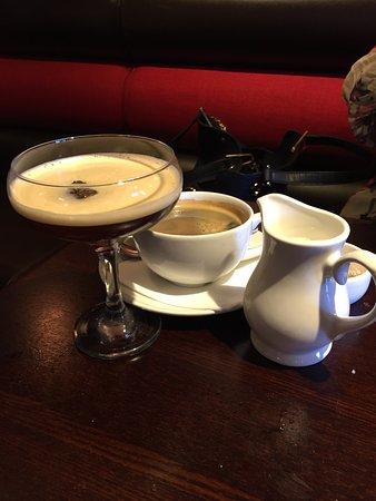 Maidenhead, UK: irish and coffee always go well