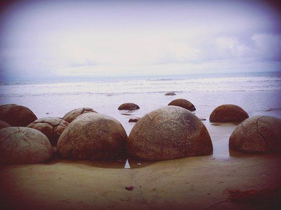Oamaru, Nuova Zelanda: Moreaki Boulders