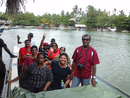 Província do Oeste, Sri Lanka: Madu gaga boat safari