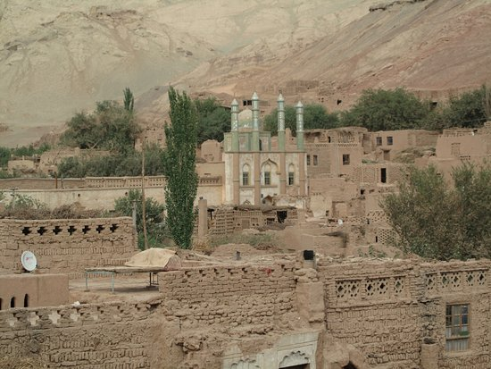 Turpan, Chine : The Ancient Village