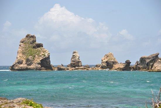 Saint Francois, Guadeloupe: La Pointe des Chateaux