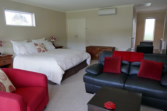 Hanmer Springs, New Zealand: Our room - Mt Isobel
