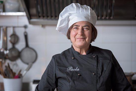 Casperia, Italia: Chef Paola