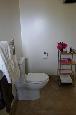 Hanmer Springs, Nuova Zelanda: Bathroom in Mt Isobel suite