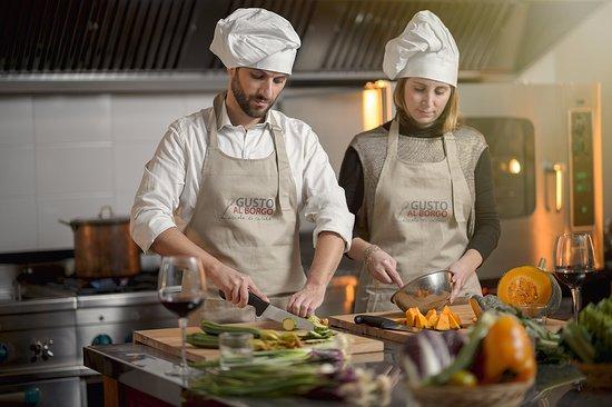 Casperia, Italia: cooking class