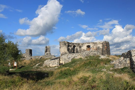 Tapolca, Hongaria: The castle ruins