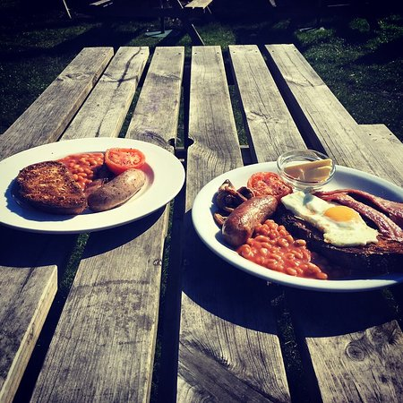 Ringwood, UK: New forest breakfasts