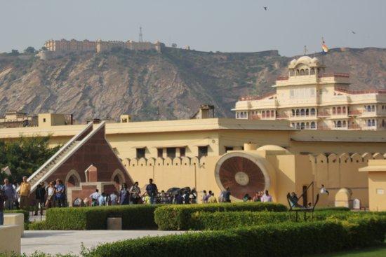 Jantar Mantar - Jaipur: Fort, City palace and Jantar mantar