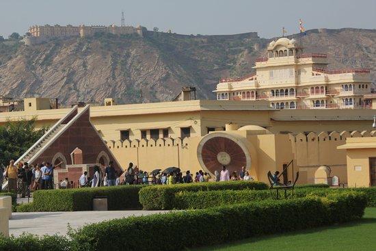 Jantar Mantar - Jaipur: full view