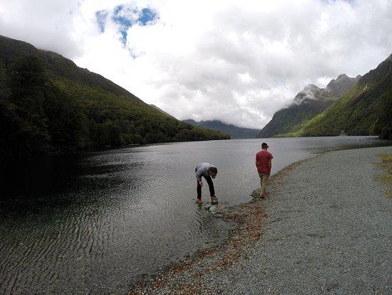 Fiordland National Park, Selandia Baru: Lake Gunn