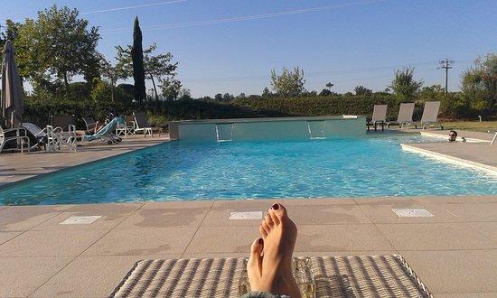 Ponsacco, İtalya: il buongiorno al resort