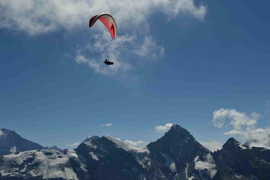Mürren, Suiza: Un poco de deporte