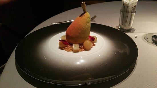 Carpaccio de saint jacques foie gras po l carr de veau for Restaurant le jardin geneve