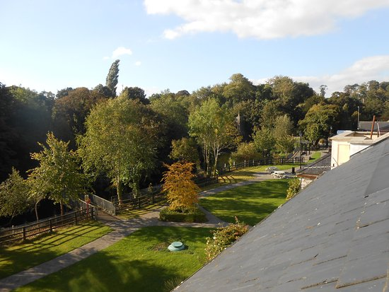 Leixlip, Irland: view from 3rd floor balcony