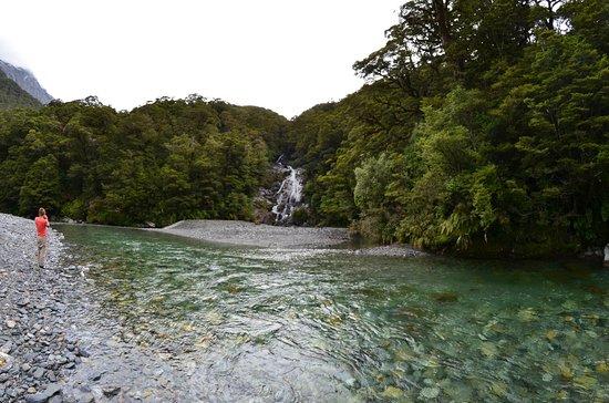 Fox Glacier, Nya Zeeland: River Walk