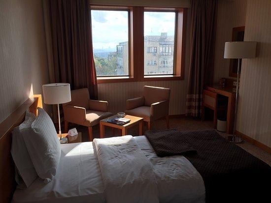 Mercure Istanbul City Bosphorus Hotel: Merkezi bir noktada olan hotel oldukça rahat ve temiz. Bursa'dan Cavit Çağlar almış eski adı the