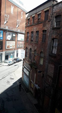 City Stop Manchester: from balcony