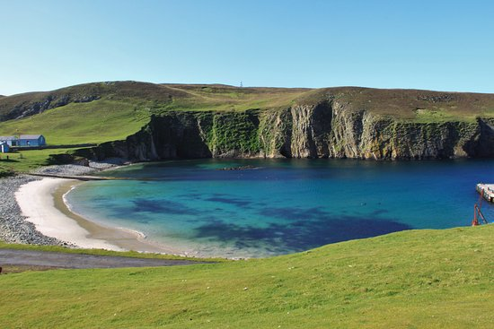 Be aware of the Skuas ! - Picture of Fair Isle Lodge & Bird ...