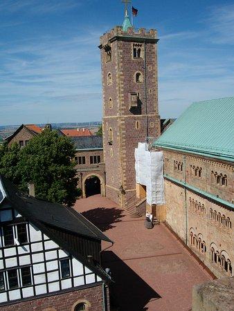 Eisenach, Deutschland: Innenhof