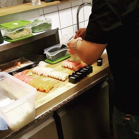Стеге, Дания: Stege sushi ønsker jer en god fredag og en rigtig god weekend. Vi er igang med en stor menu til
