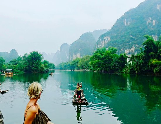 Odyssey 2018 Australia >> Li river in Yangshuo - Picture of China Odyssey Tours, Beijing - TripAdvisor